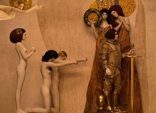 Inge Prader Il fregio di Beethoven, Il Cavaliere (1902)